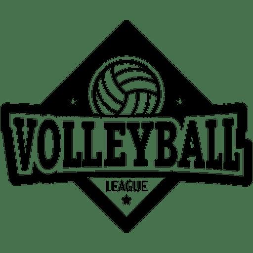 Volleyball logo.