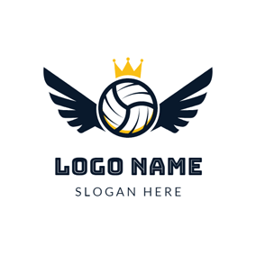 Free Volleyball Logo Designs.
