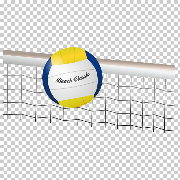 Beach volleyball Volleyball net , Vollyball PNG clipart.