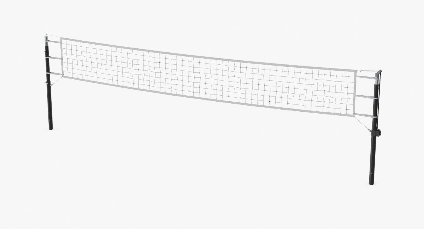 Volleyball Net.