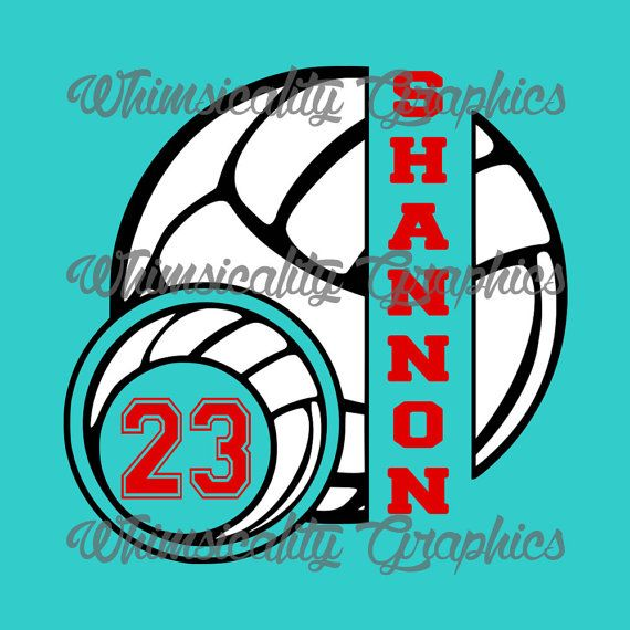 volleyball outline distorted clipart #2