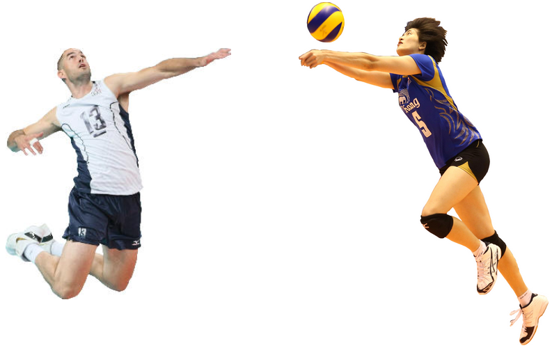 Male Volleyball Player Png. Learn More A #58490.