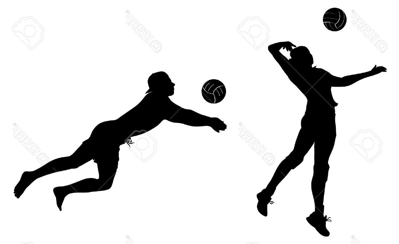 Volleyball players clipart » Clipart Station.