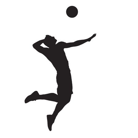521 Volleyball Serve Stock Vector Illustration And Royalty Free.