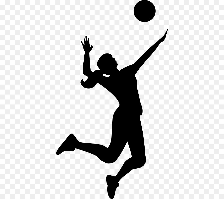 Free Volleyball Silhouette Png, Download Free Clip Art, Free.