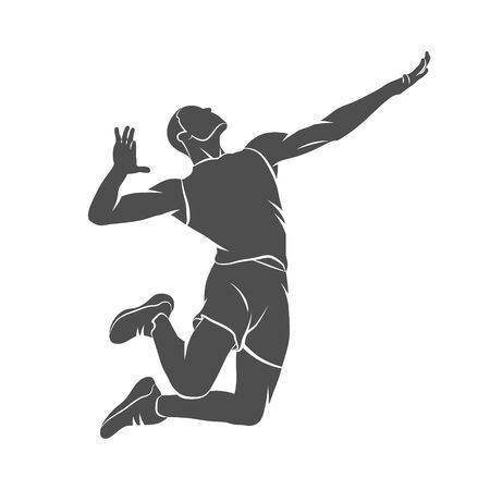Volleyball spike clipart 4 » Clipart Portal.