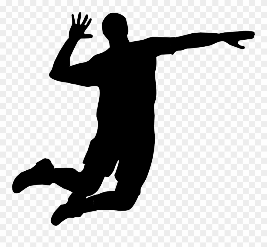 Man Clipart Volleyball.