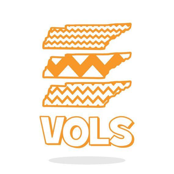 Tennessee SVG State Outline SVG State SVG Chevron svg.