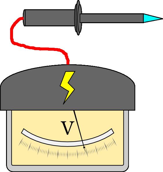 High Voltage Probe Clip Art at Clker.com.