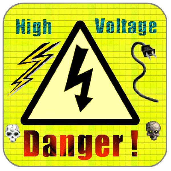 High Voltage Sign Clip Art at Clker.com.