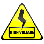 High voltage clipart #7