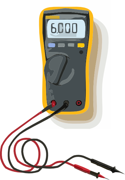 Multimeter cliparts.