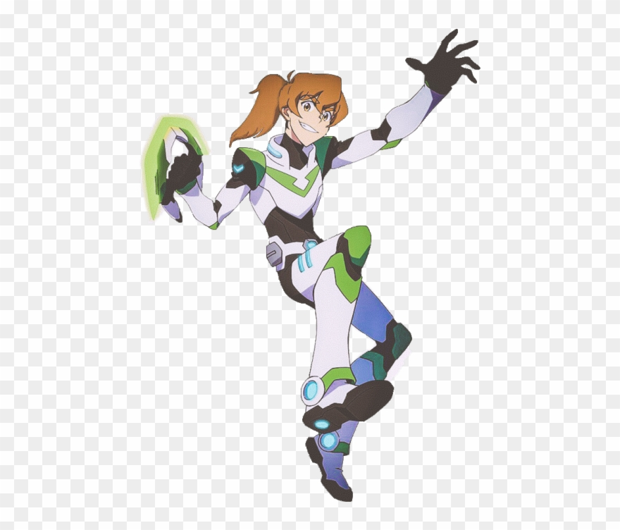 Pidge The Green Paladin Of Voltron With Her Hair In.