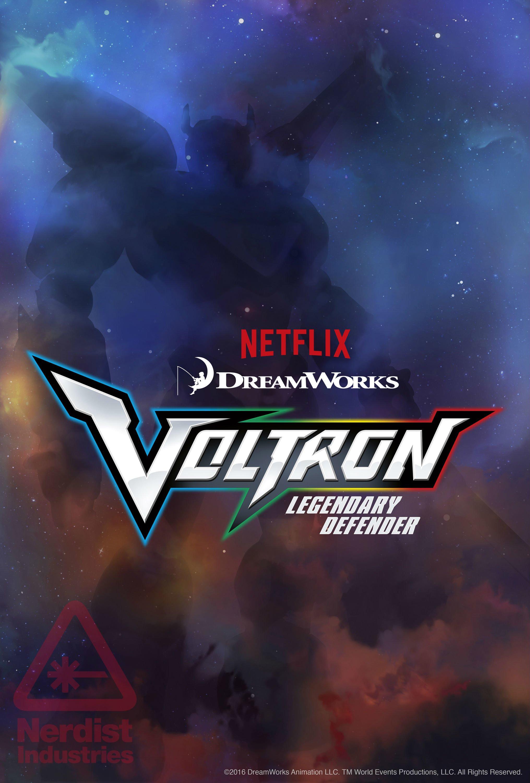 Poster Reveals Logo For Netflix\'s \'Voltron: Legendary.
