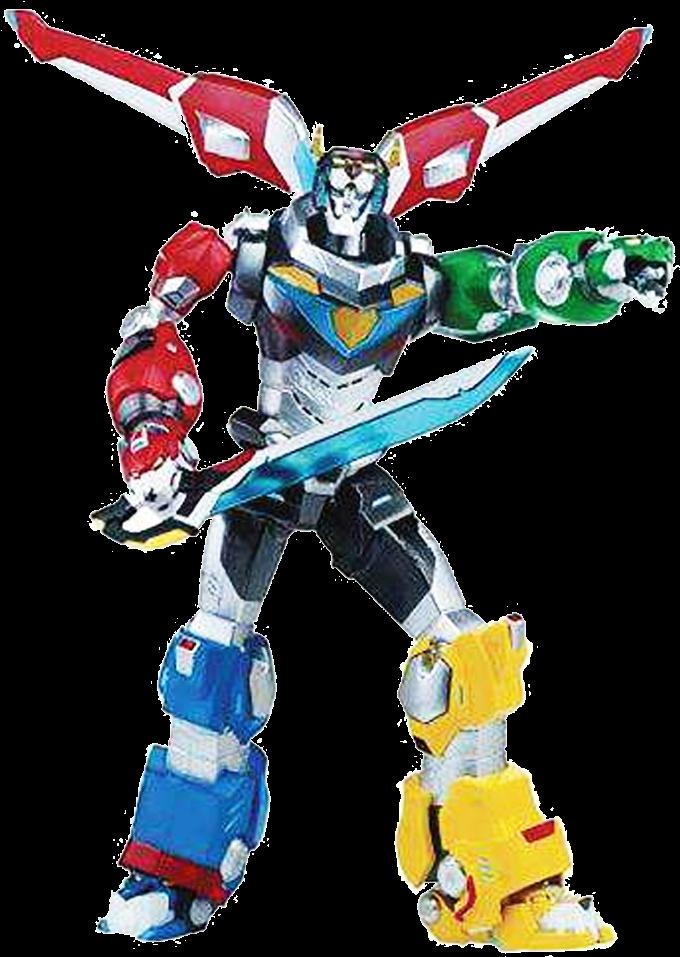 HD Transparent Voltron Superhero Lance.