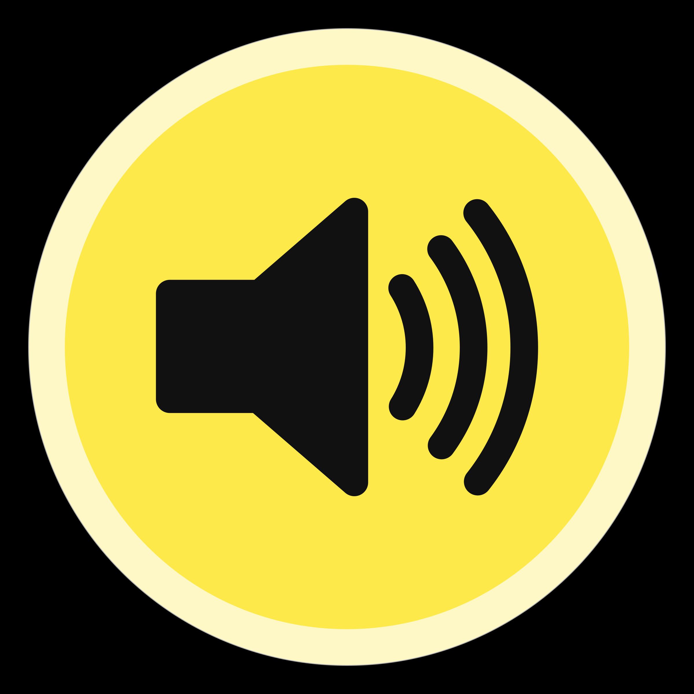 Speakers clipart volume button, Speakers volume button.