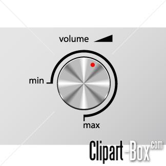 CLIPART VOLUME REMOTE.