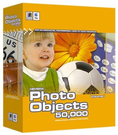Hemera Photo Objects 50,000 Volume 1 Clipart Win/Mac DVD.