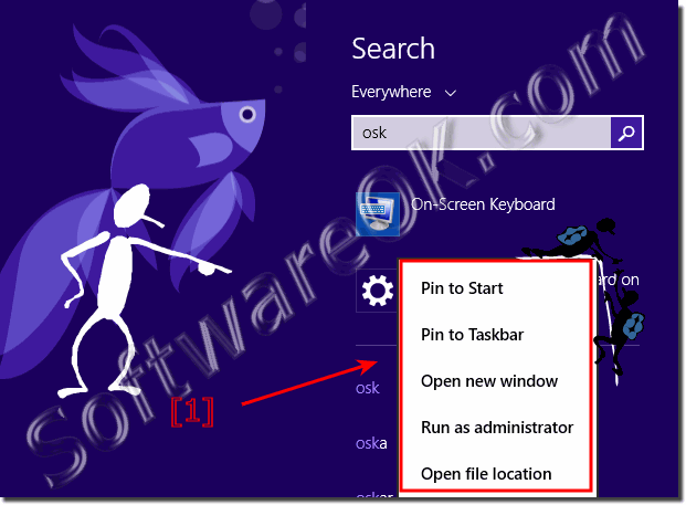 How to find Windows 8 On.
