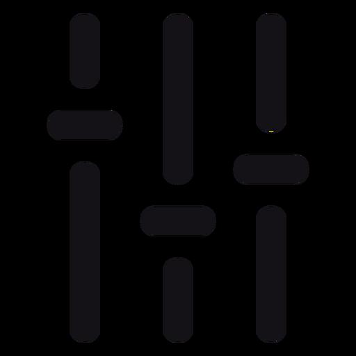 Volume control icon.