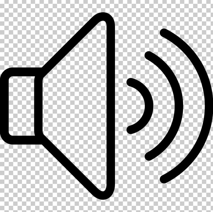 Computer Icons Sound Icon Volume PNG, Clipart, Area, Black And White.