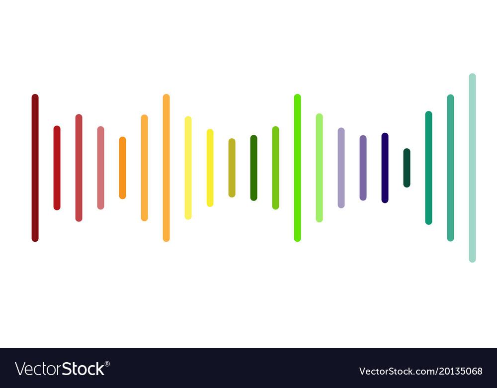Volume sound logo on white background volume.