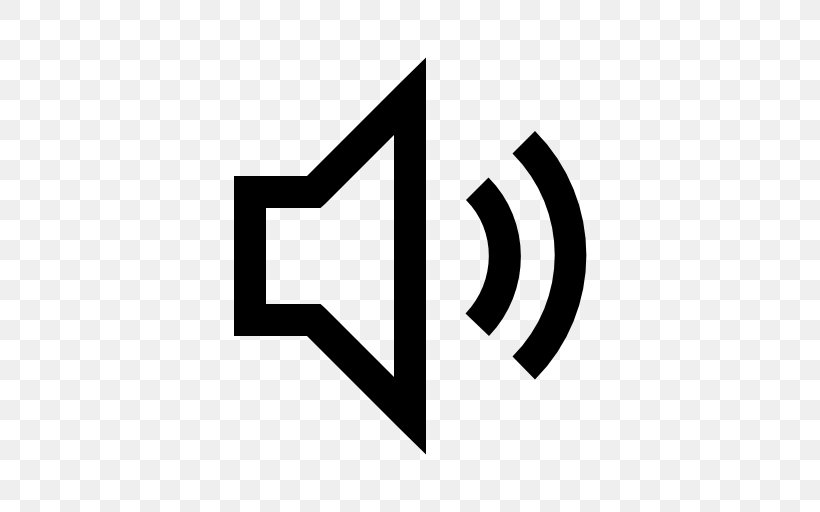 Sound Icon Volume, PNG, 512x512px, Sound, Black And White.