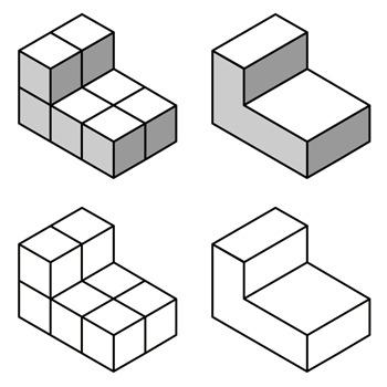 Unit Cube Volume: Set B.