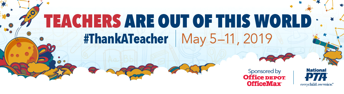 Teacher Appreciation Week.