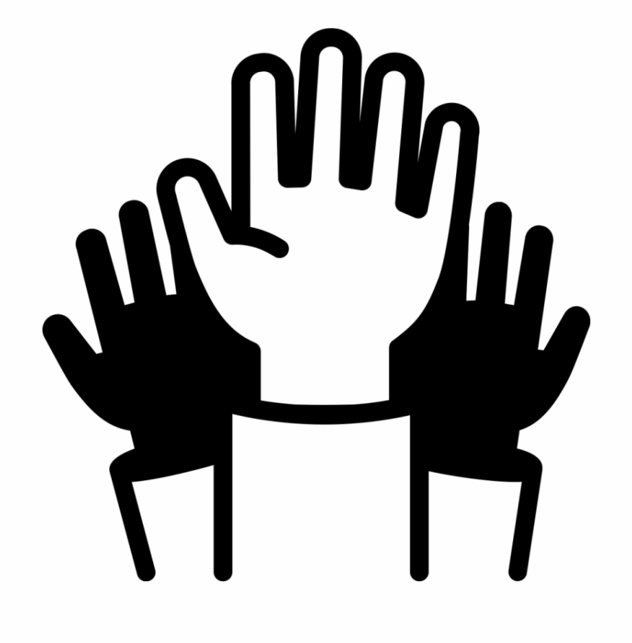 Call For Collaborations Volunteer Clip Art Black And.