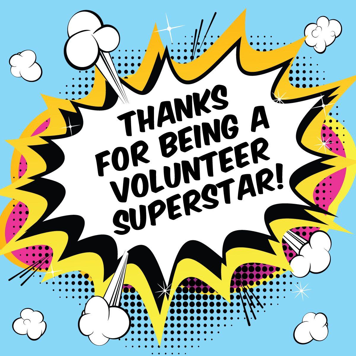 Facebook Graphics for School Volunteer Appreciation.
