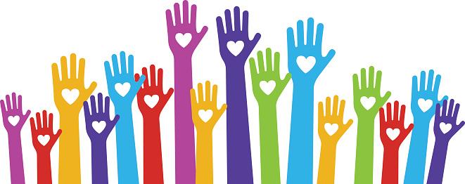 Volunteer hands clip art clipart download.