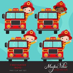 43 Best Firefighter clipart images.