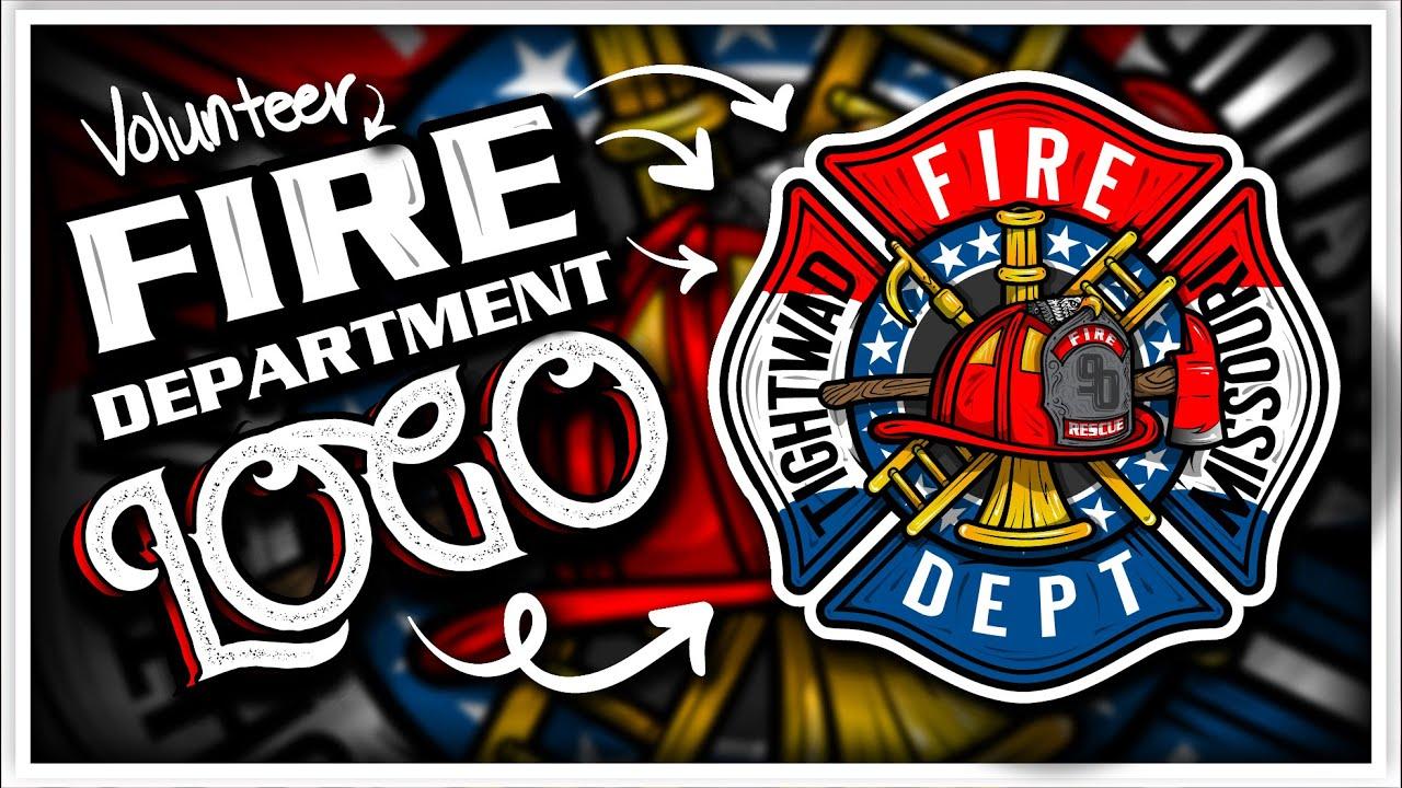 TIGHTWAD VOLUNTEER FIRE DEPARTMENT Station Logo & Unit Patch Design.