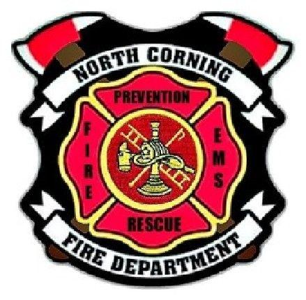 North Corning Volunteer Fire Department Logo.