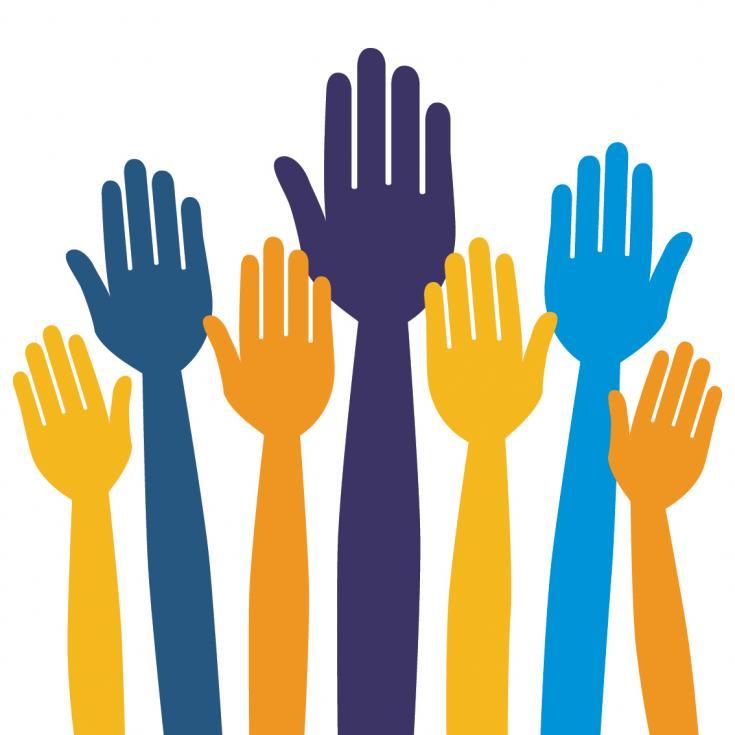 1141 Volunteer free clipart.