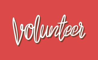 Volunteer Free Vector Art.