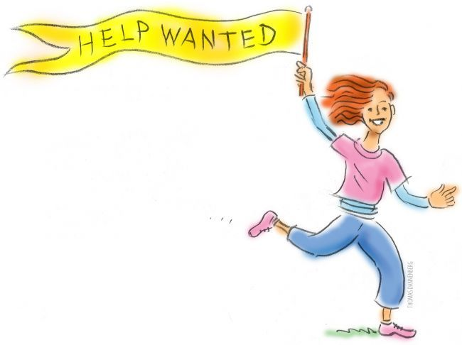 Printable Volunteer Help Wanted I PTO Today Gallery.