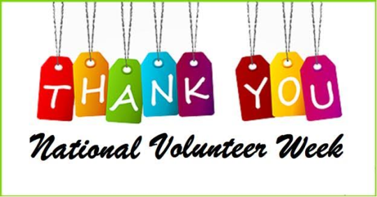 National Volunteer Week.