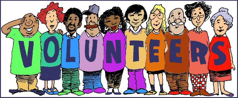 Volunteers clip art black and white free clipart.