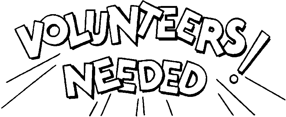 Volunteers clip art black and white free clipart 3.
