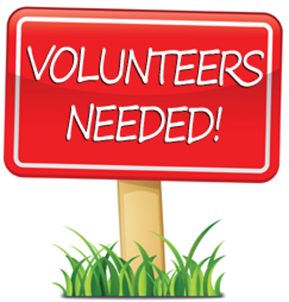 Clipart Volunteers Needed.