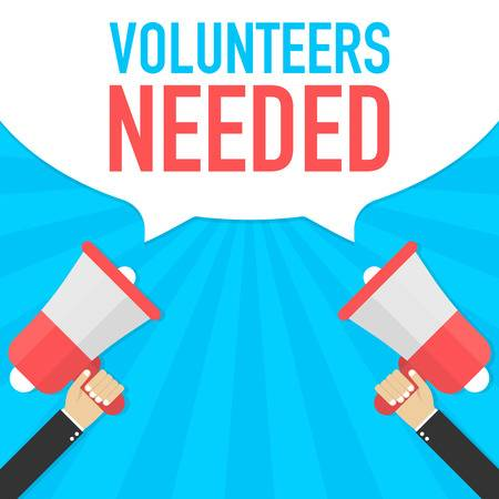 111 Volunteers Needed Cliparts, Stock Vector And Royalty Free.