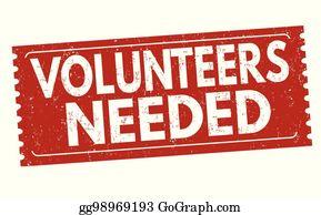 Volunteers Needed Clip Art.