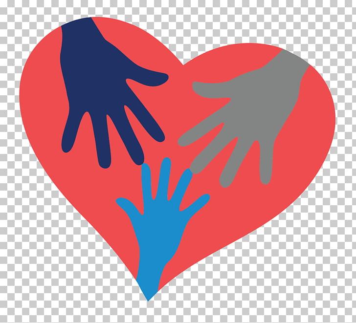 Voluntario corazón comunidad amor radiactivo, PNG Clipart.