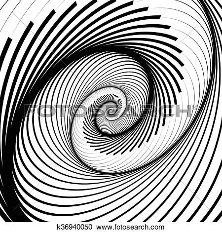 Clipart of Spiral, volute background.
