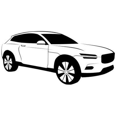 Volvo clipart.