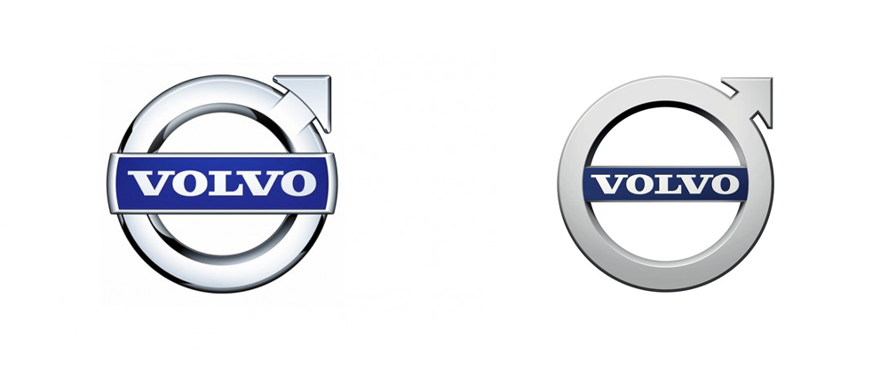 Brand New: New Logo for Volvo by Stockholm Design Lab.