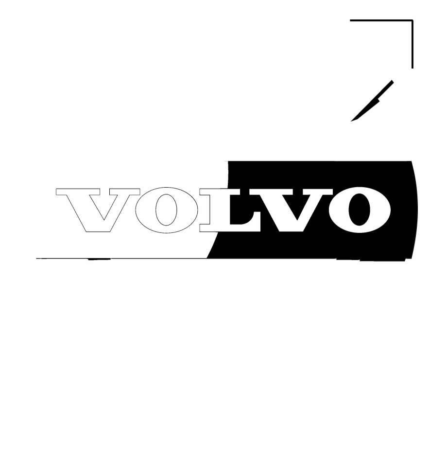 Volvo Logo Black And White.