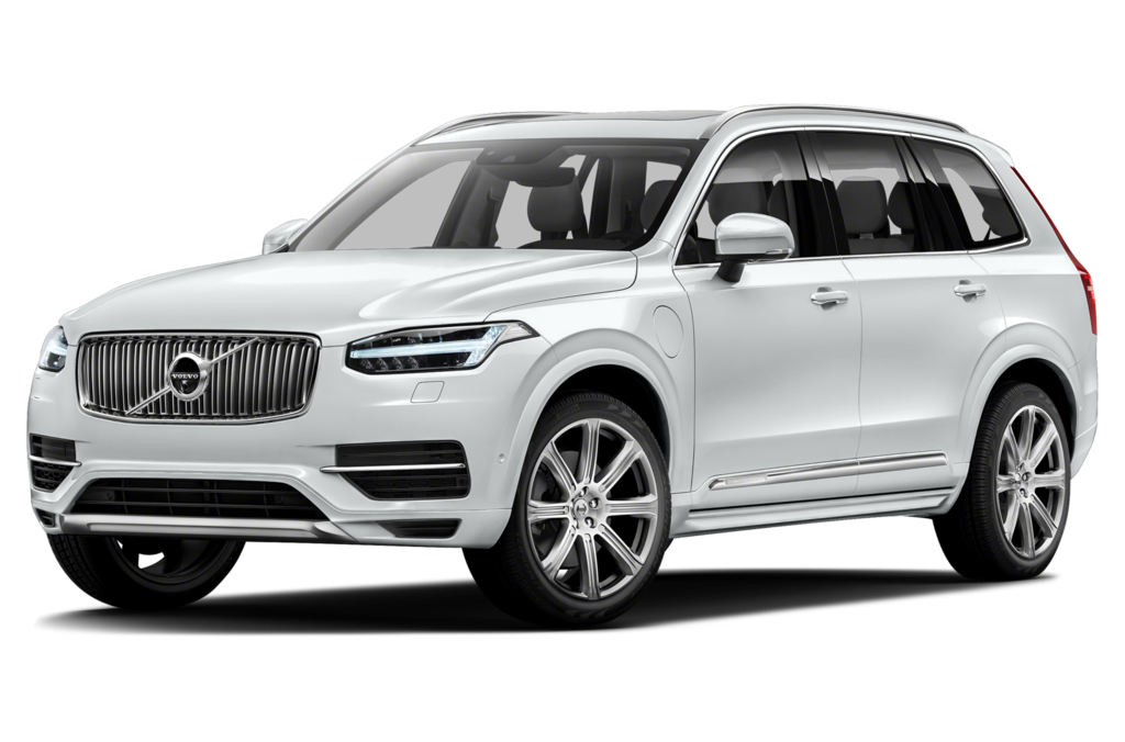 White Volvo PNG Pic.